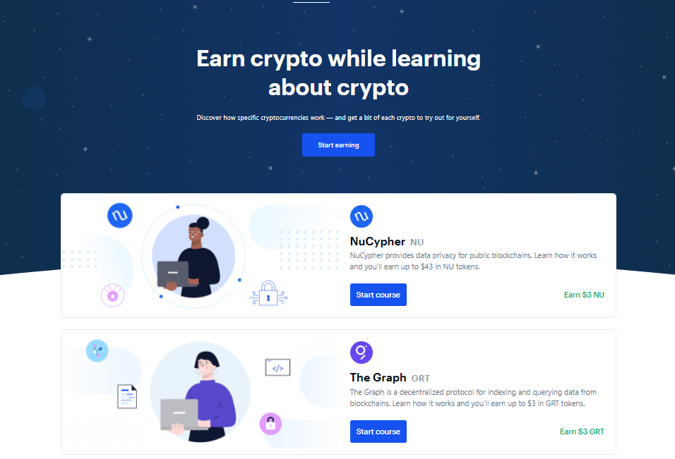 Coinbase Special features