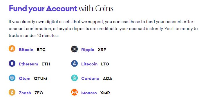Kraken Exchange. Find your account with cons