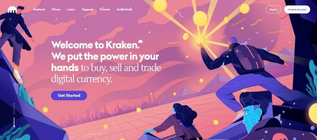 Kraken Exchange presentation