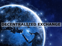 How Does a Decentralized Exchange Work?