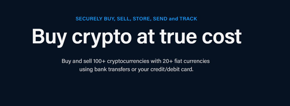 Crypto buy and sell feature of Crypto.com.