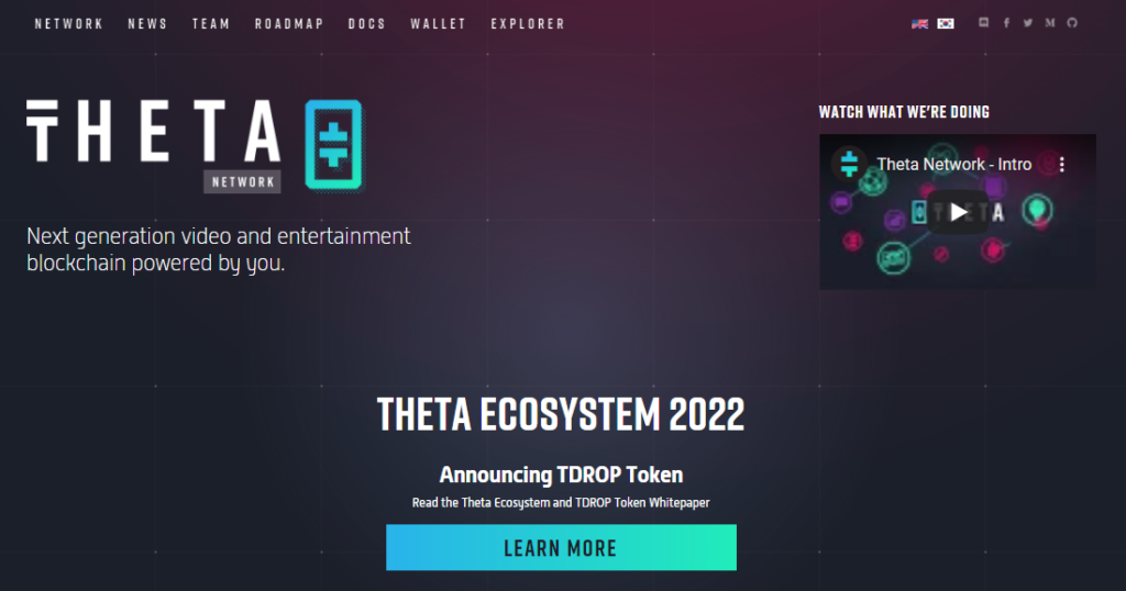 Home page of Theta