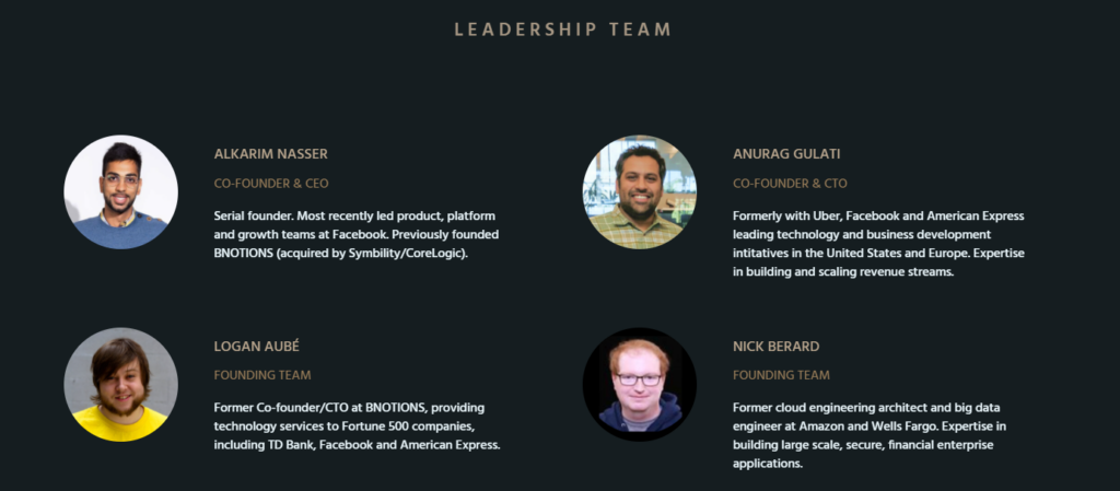 Leadership team of Tuned.