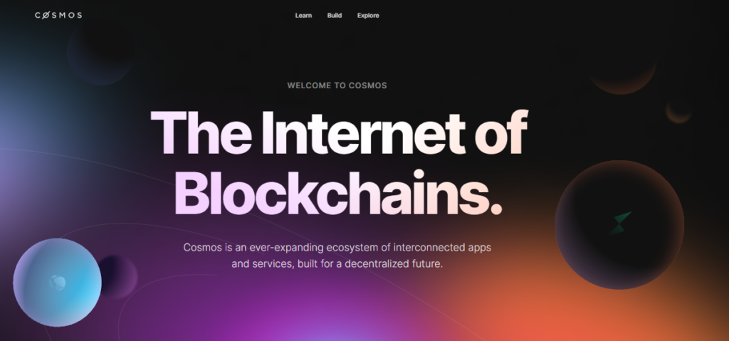 Home page of Cosmos