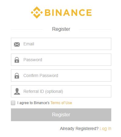 Crypto on Binance