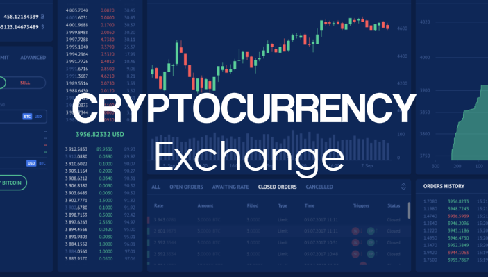 Image introducing crypto exchanges