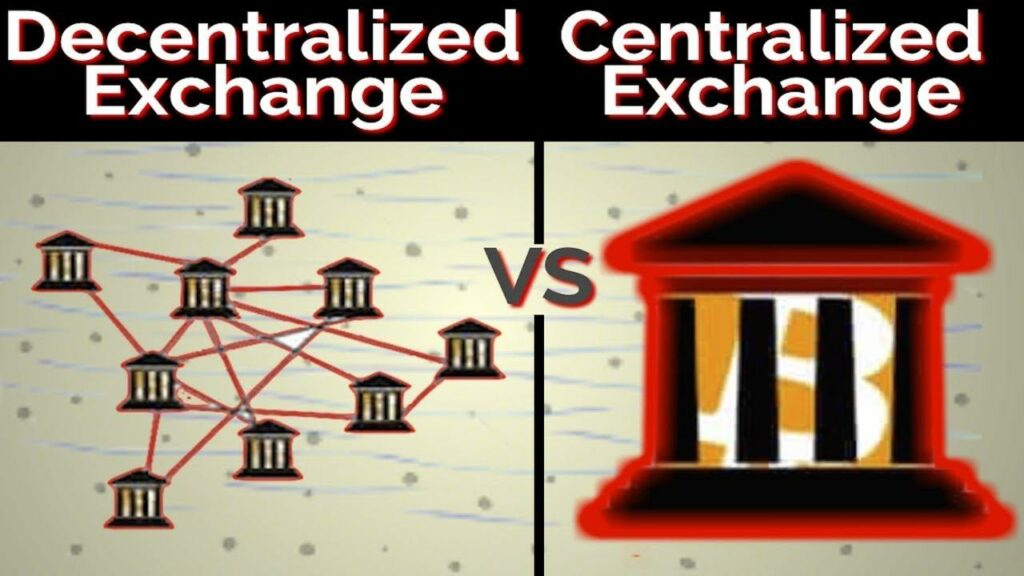 Differences Centralized vs. decentralized